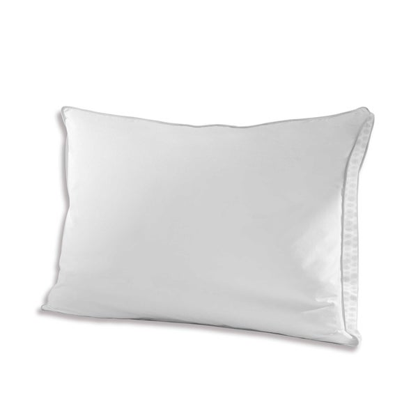 Under The Canopy Eco Pure Organic Cotton Bed Pillow - White