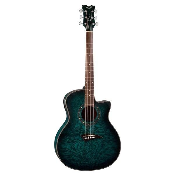 Shop Dean Exotica Quilt Ash Acoustic Electric Guitar