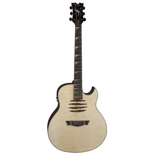 Dean Mako Dave Mustaine Acoustic-Electric Guitar Flame Top - Gloss Natural