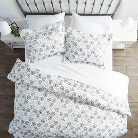 Merit Linens Premium Ultra Soft 3 Piece Make a Wish Print Duvet Cover Set