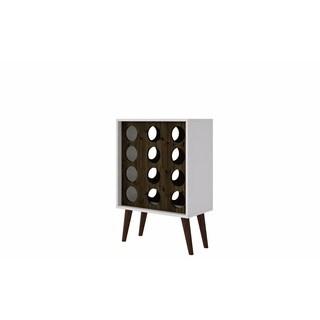 Manhattan Comfort Lund 12 Bottle Wine Cabinet and Display