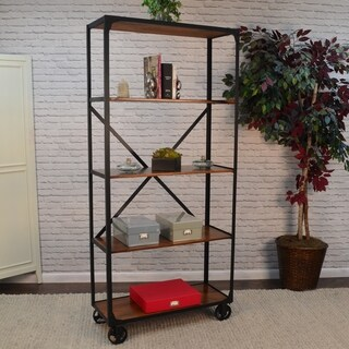 Granger Bookcase with Casters