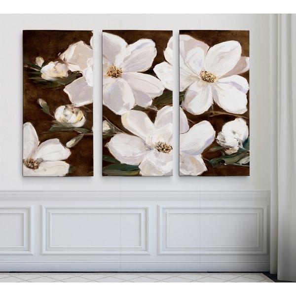 White Chocolate Blooms IIHAC17-18460-3P