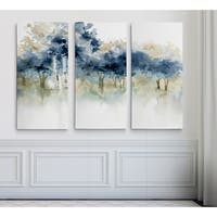 Wexford Home 'Waters Edge I' 3-piece Gallery-wrapped Canvas Set