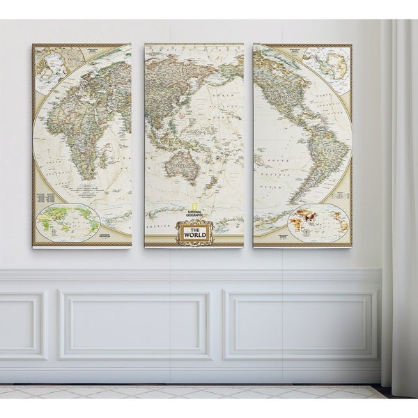 National Geographic World MapNATGEO-3P