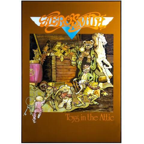 "American Art Decor Aerosmith ""Toys in the Attic"" Album Poster Print"