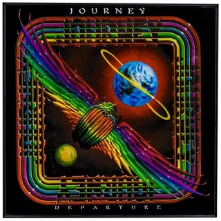 "Journey ""Departure"" Framed Album Cover Wall Art"