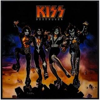 """KISS """"Destroyer"""" Framed Album Cover Wall Art"""