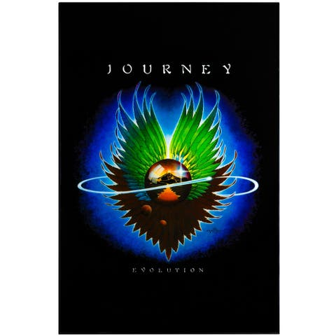 "American Art Decor Journey ""Evolution"" Framed Album Cover Poster Print"
