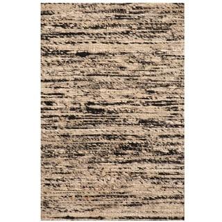 Herat Oriental Indo Hand-tufted Chenille Flatweave Contemporary Rug (1'6 x 2')