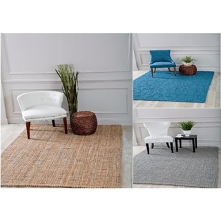 "Persian Rugs Hand Woven and Knotted Sisal Jute Area Rug (5'2 x 7'2) - 5'2"" x 7'2"""