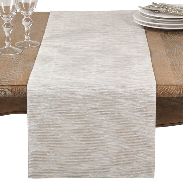 Perfect Metallic Woven Glam Table Runner