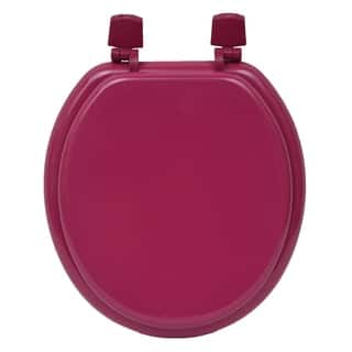 Evideco Round Molded Wood Toilet Seat Solid|https://ak1.ostkcdn.com/images/products/17522538/P23747662.jpg?impolicy=medium