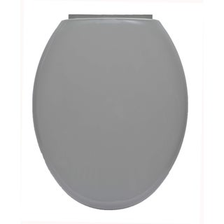 Evideco Slow-Close Easy Release Oval Toilet Seat