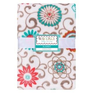Waverly Baby by Trend Lab Pom Pom Play Plush Baby Blanket