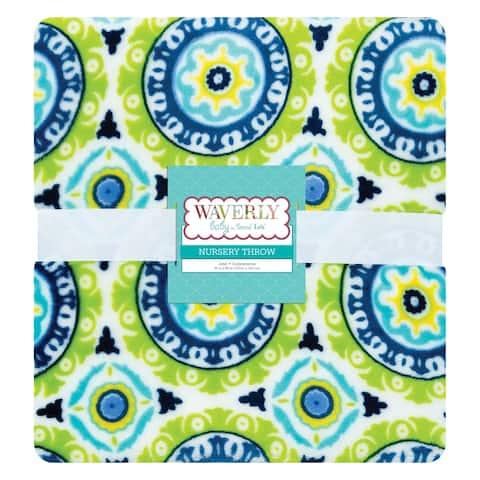 Waverly Baby by Trend Lab Solar Flair Plush Throw Blanket