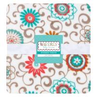 Waverly Baby by Trend Lab Pom Pom Play Plush Throw Blanket