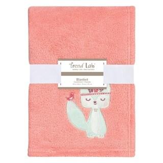 Trend Lab Wild Forever Plush Baby Blanket