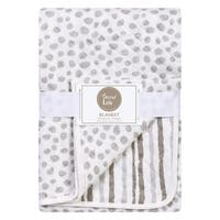 Trend Lab Gray Cloud Knit Blanket