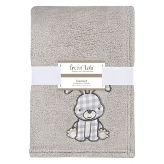 Trend Lab Gray Bunny Plush Baby Blanket|https://ak1.ostkcdn.com/images/products/17522659/P23747752.jpg?impolicy=medium
