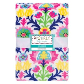 Waverly Baby by Trend Lab Santa Maria Plush Baby Blanket