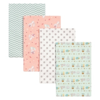 Link to Trend Lab Wild Southwest 4 Pack Flannel Blankets Similar Items in Baby Blankets