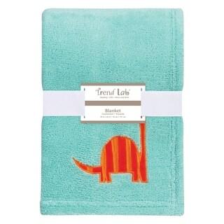 Trend Lab Dinosaur Roar Plush Baby Blanket
