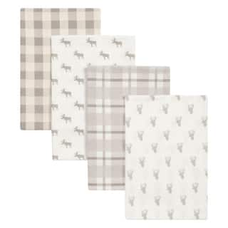 Trend Lab Stag and Moose 4 Pack Flannel Blankets|https://ak1.ostkcdn.com/images/products/17522693/P23747767.jpg?impolicy=medium