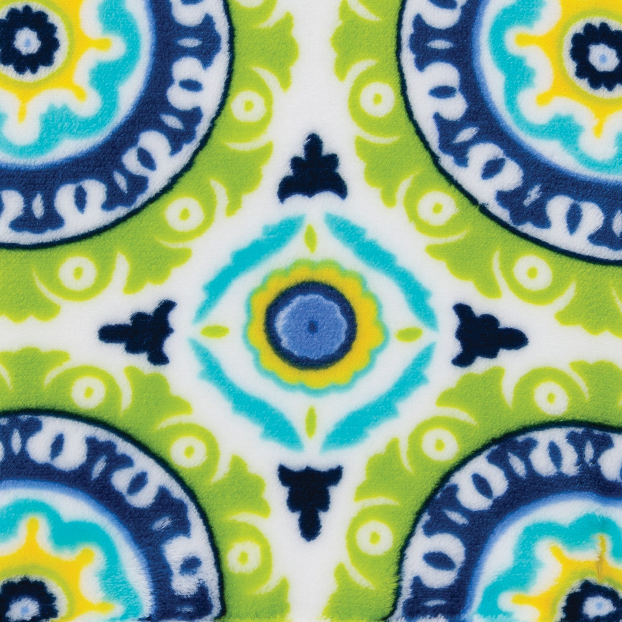 Trend Lab Plush Changing Pad Cover Multi Waverly Solar Flair