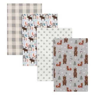 Trend Lab Scandi Cocoa 4 Pack Flannel Blankets|https://ak1.ostkcdn.com/images/products/17522705/P23747768.jpg?impolicy=medium