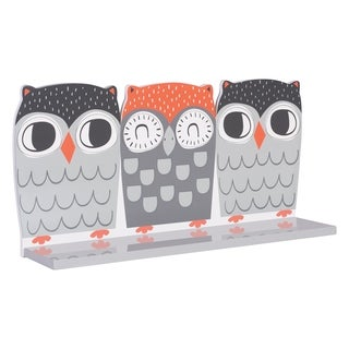 Trend Lab Olive Owl Wall Shelf