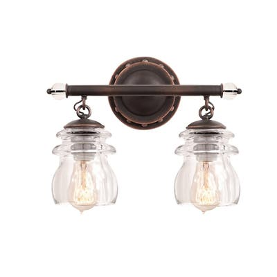 Kalco 6312PS Two Light Bath Brierfield Pearl Silver - One Size