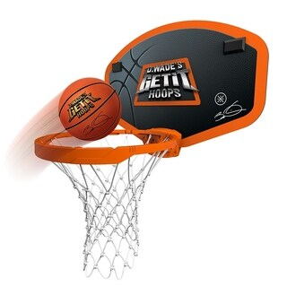 Dwayne Wade Get It Hoops Wireless Basketball Hoop - As Seen On TV - Orange