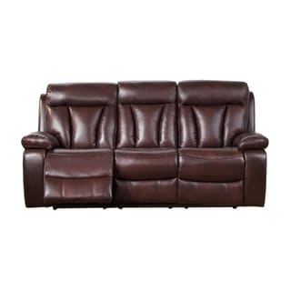 Kathleen Leather Power Sofa Recliner
