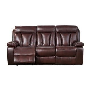 Kathleen Leather Sofa Recliner