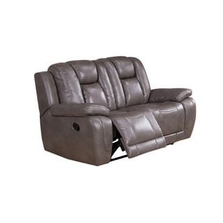 Withia Leather Power Loveseat Recliner