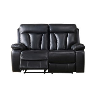 Leo Leather Power Loveseat Recliner