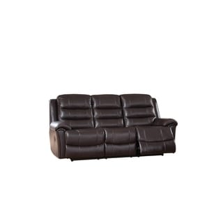 Brookville Leather Sofa Recliner