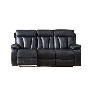 Leo Leather Power Sofa Recliner