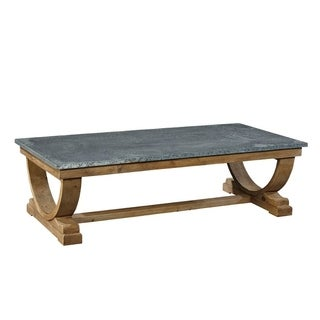 Albus Coffee Table with Zinc Top