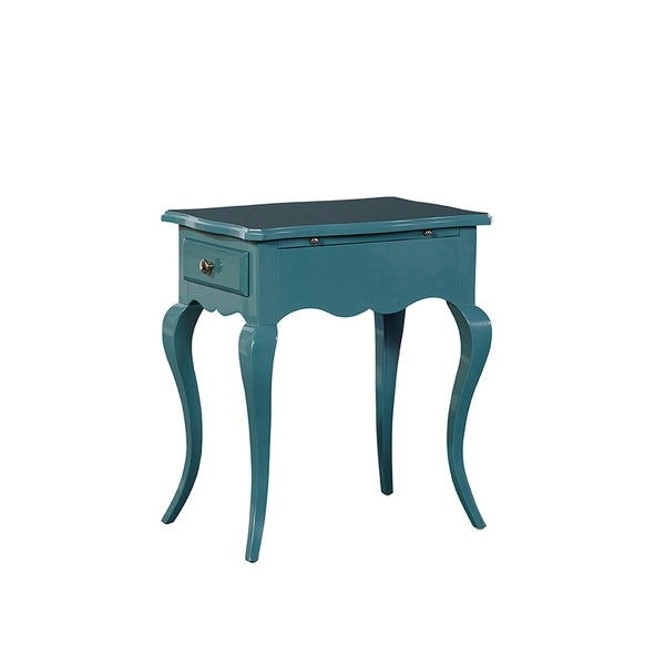 Valery Side Table with Drawers and Writing Pad