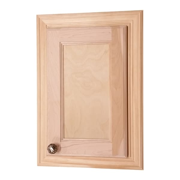 Wg Wood Products Electra Recessed Solid Medicine Cabinet