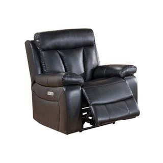 Leo Leather Power Recliner