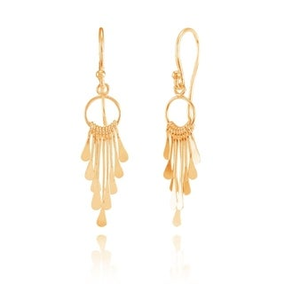 Link to Mondevio Sterling Silver Graduated Paddle-Stick Lightweight Dangle Drop Earrings Similar Items in Earrings