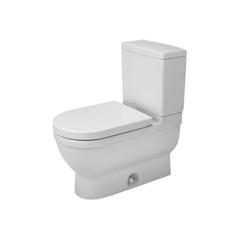 Duravit Starck 3 Elongated Two Piece Toilet D1909000 White