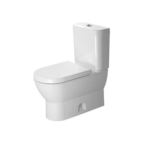 Duravit D-Code Elongated Two Piece Toilet D4004700 White