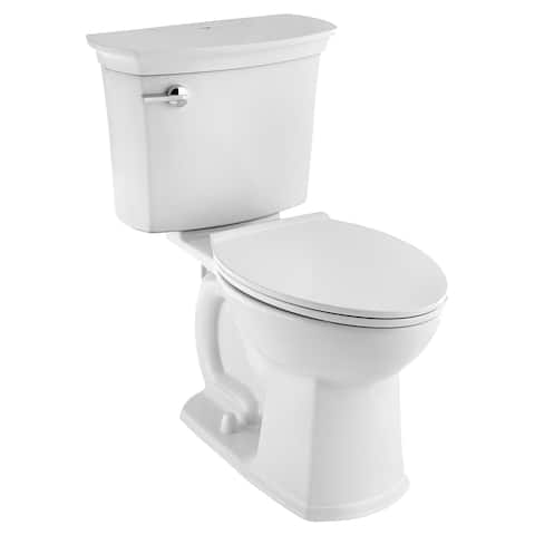 American Standard ActiClean Elongated Two Piece Toilet 714AA.154.020 White