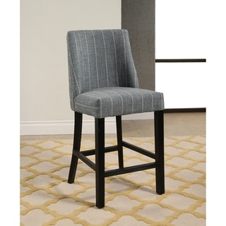 Abbyson Somerset Pinstripe 26-inch Counter Stool