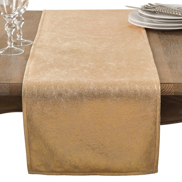 Metallic Glam Table Runner