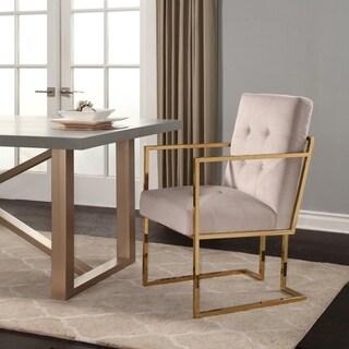 Abbyson Fraser Velvet Dining Armchair Chair